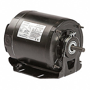 1/4 HP Belt Drive Motor, Split-Phase, 1725 Nameplate RPM, 115/208-230 Voltage, Frame 48Y