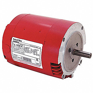 3/4 HP Water Circulator Motor, 3-Phase, 1725 Nameplate RPM, 208-230/460 Voltage, Frame 56CZ