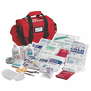 First Responder Kit,Red,Nylon