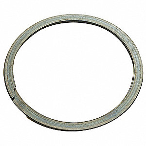 "External Spiral Retaining Ring, For Shaft Dia. 3-1/2"", Carbon Steel, 1 EA"