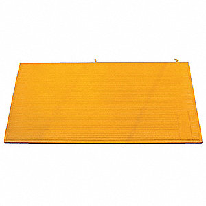 "43"" Yellow Switchmat, Solid Vinyl"