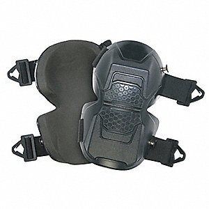Stabilizer 2-Strap Knee Pads, Black