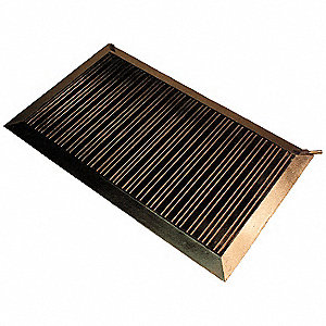 "23"" Brown Switchmat, Corrugated Vinyl"