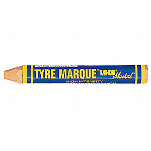 "Yellow Tire Marker, 1/2""W x 4-5/8""L"