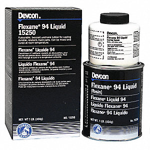 1 lb. Flexane(R) 94 Liquid with Temp. Range of Up to 180 Degrees F, Black