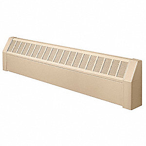 Assembled Baseboard Enclosure,48 In. L