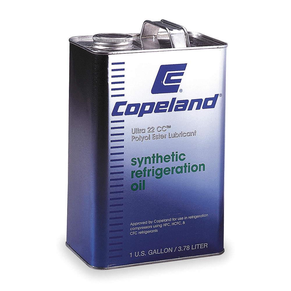 COPELAND Oil, Refrigeration, 1 G - 5E760 998-E022-01 - Grainger