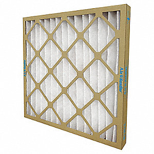 20x20x1 Synthetic Pleated Air Filter with MERV 7