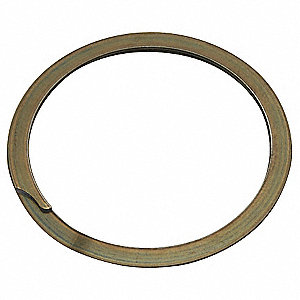 Internal Spiral Retaining Ring, Carbon Steel, 10 PK