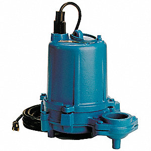 1 HP Submersible Effluent Pump, Tether Switch Type