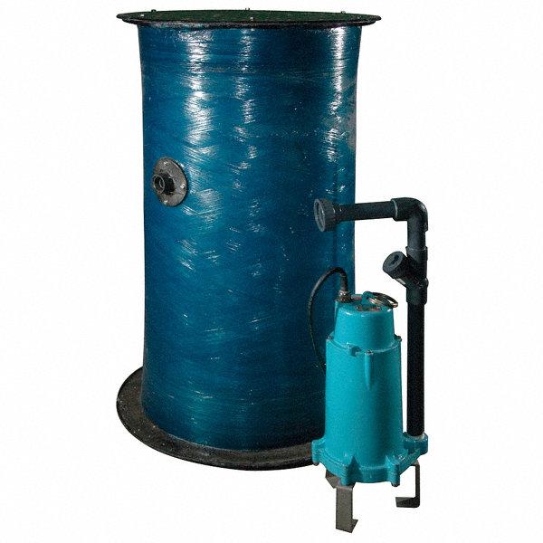 Little Giant 2 Hp Grinder Pump System 230 Voltage 5eaf7