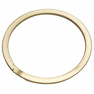"External Spiral Retaining Ring, For Shaft Dia. 1-7/8"", 302 Stainless Steel, 1 EA"