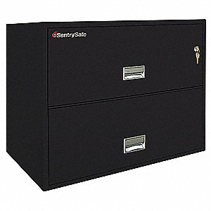 Lateral Fire File,27Hx36W,Black