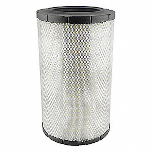 "Air Filter, Radial, 16-11/32"" Height, 16-11/32"" Length, 9-15/32"" Outside Dia."