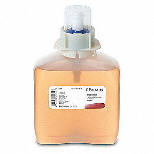 Unscented Liquid Hand Soap, 1200mL Cartridge, FMX, 3 PK