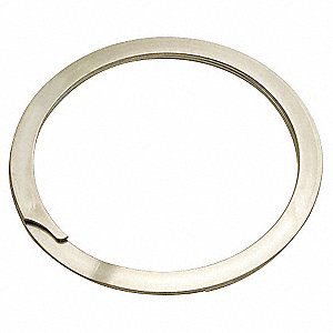 Internal Spiral Retaining Ring, 302 Stainless Steel, 1 EA