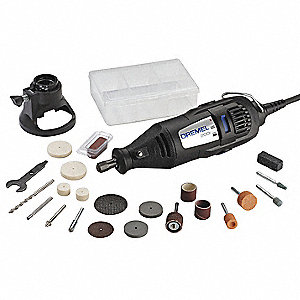 Rotary Tool Kit,15000/35,000 RPM,21 Pc