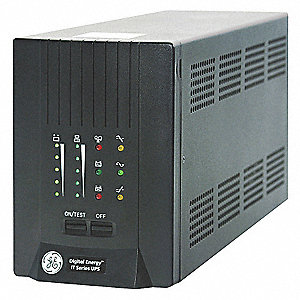 Line Interactive UPS, 2000VA Power Rating, 120VAC Output Voltage, Number of Outlets: (6) 5-15R