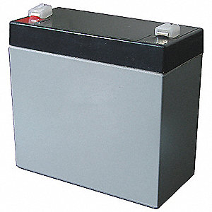 ABS Battery, Voltage 4, Battery Capacity 10Ah, Faston Terminal Type