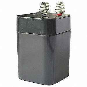 Battery,Sealed Lead Acid,6V,5Ah,Spring