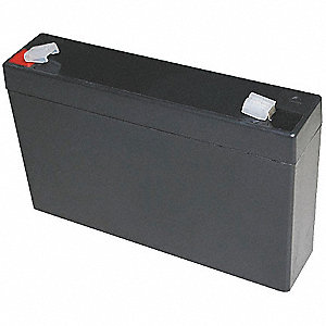 ABS Battery, Voltage 6, Battery Capacity 7Ah, Faston Terminal Type