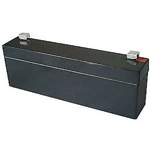 ABS Battery, Voltage 12, Battery Capacity 2.3Ah, Faston Terminal Type