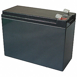ABS Battery, Voltage 12, Battery Capacity 10Ah, Faston Terminal Type