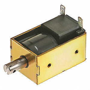 Solenoid,Box Frame,1/8 - 1/2 in,Continu