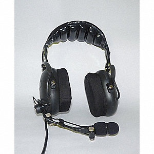 Over the Head   Over Ear, Two Ear, Black, Noise Canceling No
