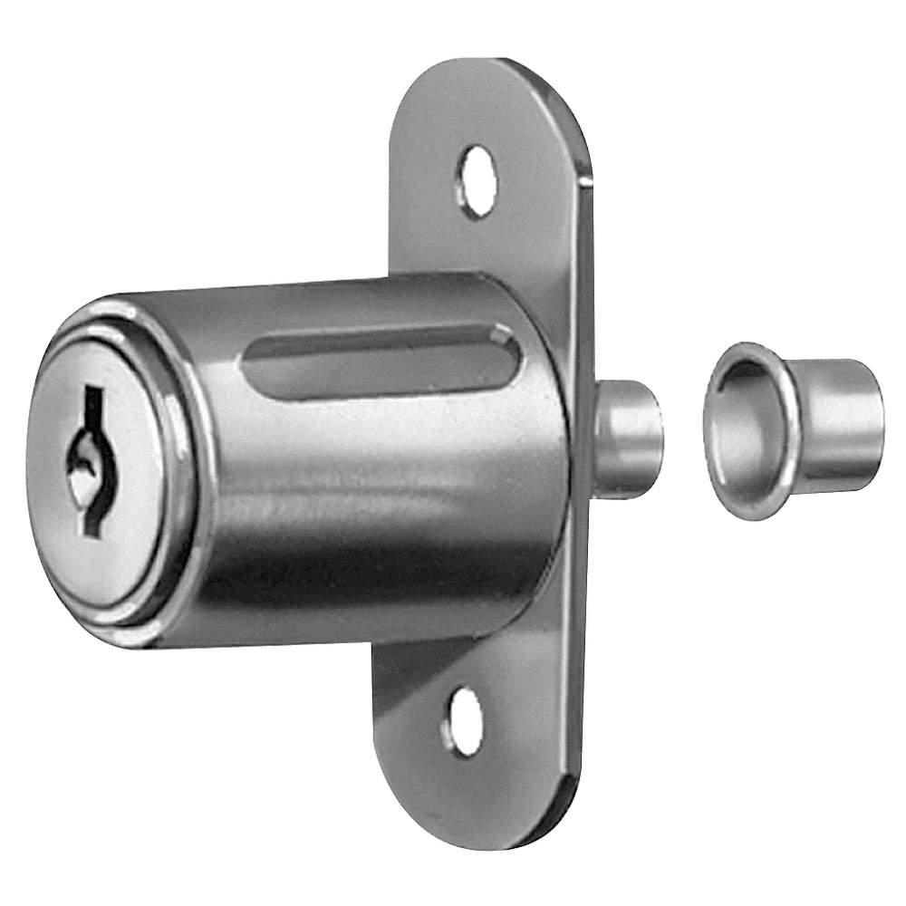 Compx National Sliding Door Lock Nickel Key Different 5elc1