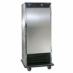 Refrigerated Cabinet,18 cu ft,Metal
