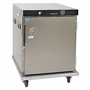 Insulated Hot Cabinet,Aluminum,Half-Size