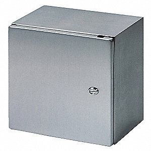 "15.80"" x 11.80"" x 8.30"" 304 Stainless Steel Enclosure"