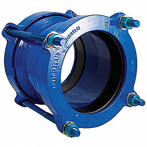 "5-1/2""L Ductile Iron Pipe Coupling, 4-29/64 to 5-3/5"" Pipe Size"