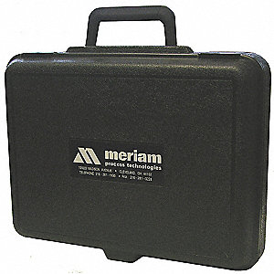 Hard Carrying Case, 12 In H, 3 In D, Black