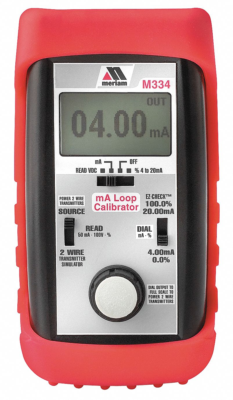 Process Calibrator, Current, 0 to 24 mA DC