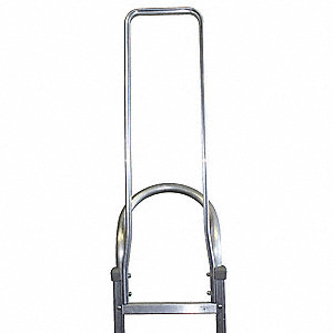 Hand Truck Frame Extension,10 in W,Al