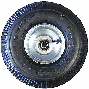 Hand Truck Foam Filled Wheel,4 in.W