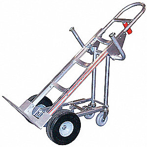 Hand Truck Cylinder Attachment,2 in H