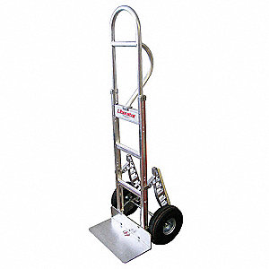 Modular Hand Truck, Single Grip, 600 lb. Overall Height 60""