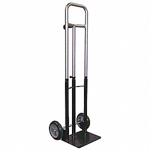 Telescoping Hand Truck, Single Grip, 300 lb. Overall Height 55""
