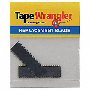 2 Sided Serrated Replacement Blades, For Use With Mfr. No. TWPS200D