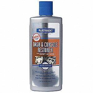 Dash and Console Restorer,8 oz,Bottle