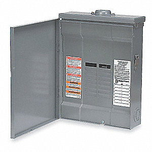 Load Center, Main Lug, Convertible,150 Amps,120/240VAC Voltage,Number of Spaces: 30