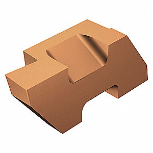 "Grooving Insert, 0.078"" W, Right Hand Cutting, 3 Seat, TLG Top Lok Grooving Insert 1125"