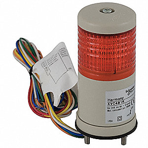 "2-1/2"" Steady Tower Light LED Assembly with 40mm Dia., Red"