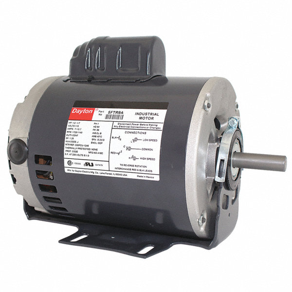 Dayton 1 hp general purpose motor capacitor start 3450 for General motors extended warranty plans