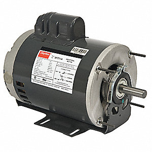 3/4, 1/5 HP General Purpose Motor,Capacitor-Start,1725/1140 Nameplate RPM,Voltage 115,Frame 56