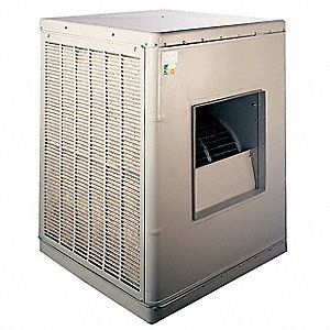 7500 to 8500 cfm Belt-Drive Ducted Evaporative Cooler, Covers 2000 to 4000  sq  ft