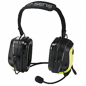 Over the Head   Over Ear, Two Ear, Yellow, Noise Canceling Yes